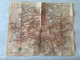Carte De PARIS - Cartes