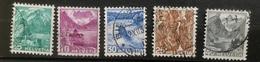 Helvetia - 1936 - (o) Used - 5 X Landschappen - Switzerland