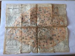 Carte Environ  De PARIS - Cartes