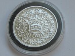 JEAN II LE BON - GROS BLANC A LA COURINNE 1357   -  Magnifique Reproduction En Argent   **** EN ACHAT IMMEDIAT **** - 987-1789 Monnaies Royales
