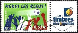 France 2006 - Mi 4132 Zf - YT 3936A ( Bravo Les Bleus + Label ) - Personnalisés