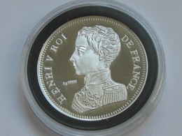 HENRI V - 5 Francs 1831  -  Magnifique Reproduction En Argent   **** EN ACHAT IMMEDIAT **** - France