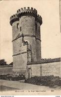 BEAUVAIS  La Tour Saint-Lucien Carte écrite En 1916   2 Scans  TBE - Beauvais