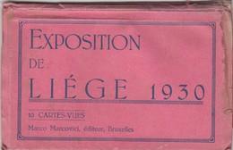 LIEGE / EXPO 1930  / CARNET - Liege