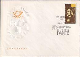 DDR 1965 Mi-Nr. 1097 FDC - FDC: Briefe