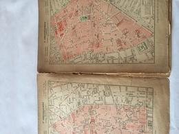 Carte Des Arrondissements De PARIS 1918 - Cartes