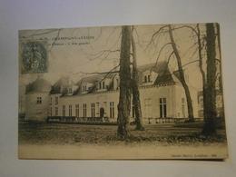 CPA ,Champigny Sur Veude Le Château,voyagée 1907,TBE,pas Commun - Champigny-sur-Veude