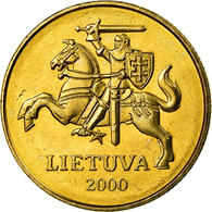 Monnaie, Lithuania, 50 Centu, 2000, SPL, Nickel-brass, KM:108 - Lituanie