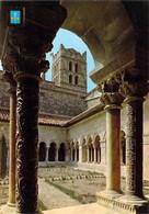 66 - Elne - Le Cloître D'Elne (XIIe Et XIVe Siècles) Et Le Clocher De La Cathédrale De Sainte Eulalie - Elne