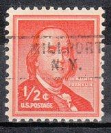 USA Precancel Vorausentwertung Preo, Locals New York, Millport 729 - Vereinigte Staaten
