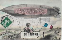 SUVENIR DE THOISSEY.Dirigeable - Other Municipalities