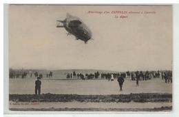 54 LUNEVILLE ATTERRISSAGE D UN ZEPPELIN ALLEMAND LE DEPART N°1 - Luneville