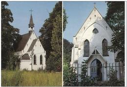 Grote Kaart Vlaams-Brabant Lubbeek Kapel OLV - Lubbeek