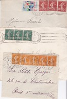 3 LSC - SEMEUSES CAMEES En Bande De  3 Et 5 - 1921-1960: Moderne