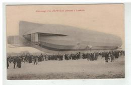 54 LUNEVILLE ATTERRISSAGE D UN ZEPPELIN ALLEMAND N°3 - Luneville
