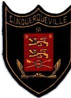 CIN Querqueville - écusson Tissu - Marine Centre Instruction Naval - Léopards De Normandie - 10 Cm X 8 Cm - Ecussons Tissu