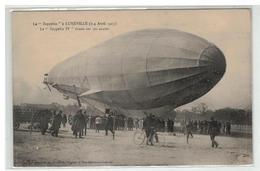 54 LUNEVILLE LE ZEPPELIN IV TIRANT SUR SES ANCRES LE 3 ET 4 AVRIL 1913 - Luneville