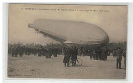 54 LUNEVILLE UN MOMENT CRITIQUE LE ZEPPELIN DELESTE A L ARRIERE PIQUE DU NEZ LE 4 AVRIL 1913 - Luneville