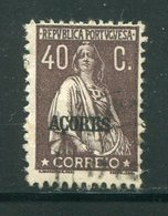 ACORES- Y&T N°209- Oblitéré - Açores