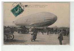 54 LUNEVILLE LE ZEPPELIN LES 3 ET 4 AVRIL 1913 LA FOULE AVIDE DE VOIR LE ZEPPELIN IV - Luneville
