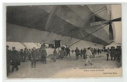 54 LUNEVILLE LE ZEPPELIN LES 3 ET 4 AVRIL 1913 HELICE ARRIERE ET NACELLE - Luneville