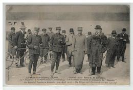 54 LUNEVILLE LES LIEUTENANTS AVIATEURS D EPINAL GENERAL LESCOT BARON TURCKHEIM LE ZEPPELIN LES 3 ET 4 AVRIL 1913 - Luneville