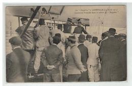 54 LUNEVILLE LE ZEPPELIN LES 3 ET 4 AVRIL 1913 GENDARME FRANCAIS DANS LA CABINE - Luneville