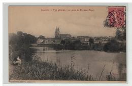 54 LUNEVILLE VUE GENERALE PRISE DU PRE AUX OURS PECHE PECHEURS - Luneville