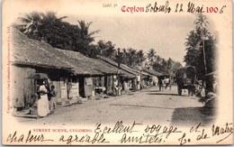 SRI LANKA - CEYLAN - Street Scène COLOMBO - Sri Lanka (Ceylon)