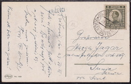 Djevdjelija - Beograd, 1922, Railway TPO Cancellation No. 20 - Briefe U. Dokumente