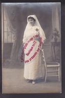 R297 - Infirmière Croix Rouge / Red Cross - Augusta SIMOND - Dépôt Des Blessés CHAMBERY 1915 - WW1 - Guerre 1914-18