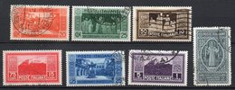 1929 - Regno Montecassino N. 262 - 68 Timbrati Serie Completa Used - 1900-44 Victor Emmanuel III.