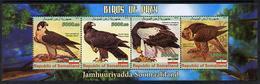 REPUBLIC OF SOMALILAND - Micronation -2011 - Birds Of Prey #2 - Perf 4v Sheet - Mint Never Hinged - Sellos