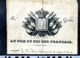 PASSEPORT ROYALE POUR LE SIEUR  ETIENNE VALENTIN DE L AVEYRON COMMUNE DE ST MARTIN ( De Lenne?) - Documents Historiques