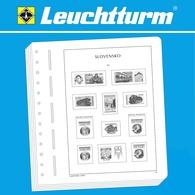 Leuchtturm 361239 Suplemento-SF Eslovaquia 2018 - Otras Colecciones