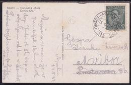 Ođaci - Apatin - Sombor, 1932, Railway TPO Cancellation, No. 172 - Briefe U. Dokumente