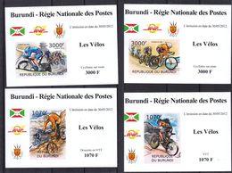VTT - Cyclisme - Burundi - COB 1674 / 7 ** - NON Dentelé - En Petites Feuilles - Valeur 37 € +++ - Mountain Bike