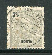 HORTA- Y&T N°13- Oblitéré - Horta