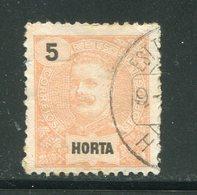 HORTA- Y&T N°14- Oblitéré - Horta