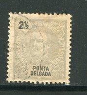 PONTA DELGADA- Y&T N°13- Oblitéré - Ponta Delgada