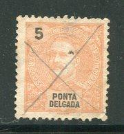 PONTA DELGADA- Y&T N°14- Oblitéré - Ponta Delgada