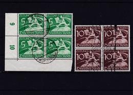 Deutsches Reich, Nr. Z 738/39 Im Viererblock, Gest. (K 6179) - Oblitérés
