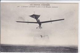 LES GRANDS AVIATEURS L AVIATEUR LATHAM EN PLEIN VOL SUR MONOPLAN ANTOINETTE - ....-1914: Précurseurs