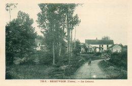 - BEAUVOIR (89) -  Hameau Des Loisons  (animée, Automobiles)   -21033- - Other Municipalities