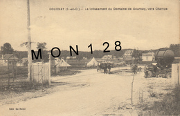 GOURNAY (93)  LE LOTISSEMENT DU DOMAINE DE GOURNAY , VERS CHAMPS - Gournay Sur Marne