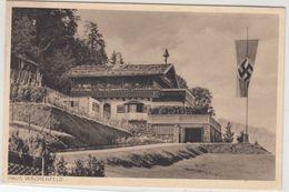 Bayern - Berchtesgaden Haus Wachenfeld A. Obersalzberg Sw-AK Ungelaufen Ca. 1935 - Ohne Zuordnung