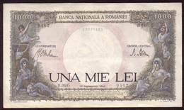 ROUMANIE - Billet 1.000 Lei  10 09 1941 - Pick 52 - Romania