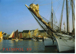 22 Paimpol Pempoull N°2 7708 Rassemblement De Vieux Gréements An Avril 1989 Voiliers - Paimpol