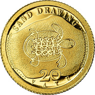 Monnaie, Vanuatu, Sand Drawing, 20 Vatu, 2011, FDC, Or - Vanuatu