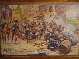 BELGIQUE      Défense De Liège   (+ Pub Au Dos) - Weltkrieg 1914-18